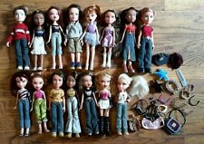 NICE BIG Lot of 15 Bratz Dolls Boys Girls Accessories Clothes Shoes