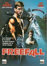 AFFICHE PROMO VIDEO CLUB--FREEFALL CHUTE LIBRE--RPBERTS/FAHEY