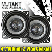 "4"" Speakers 40W 2-Way 4 Inch 10cm Car Door Shelf Coaxial Speaker New Pair Cheap"