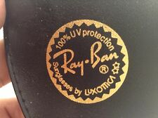 Ray-Ban BLACK SUNGLASSES CASE WITH BELT LOOP CASE ONLY Luxottica