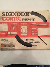 NEW Signode 84545 Contrax  300 ft of co-polymer Strapping