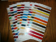 1978 Commercial Truck Colors Sherwin-Williams Color Chip Paint Sample