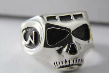 Sterling silver Depp skull ring Pirate JACK  Sparrow Johnny Richards Acme Brand