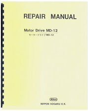 Nikon Motor Drive MD-12 Service & Repair Manual