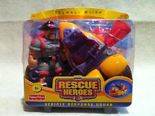 Rescue Heroes Vehicle Response Squad Seymour Wilde & Kayak!