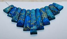 Blue IMPERIAL JASPER SEA Sediment Turquoise CAB set CABOCHON 11 PCS Beads Sets