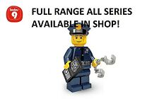 Lego minifigures policeman series 9 (71000) new factory sealed