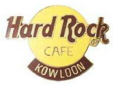 Hard Rock Cafe KOWLOON 1990s Large CLASSIC HRC Logo PIN 2LC GRID - HRC #4161