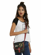 Harry Potter Hogwarts Express Train Platform 9 3/4 Saddle Crossbody Bag Purse