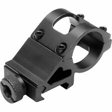 "NcSTAR VISM 1"" Flashlight Laser Scope Rifle Rail Mounted Offset Mount MFL1 Black"