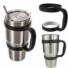 Handle For 30 Oz YETI RTIC Ozark Rambler Tumbler Cup Holder Travel Black