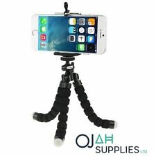 Octopus Mini Mobile Phone Tripod Stand Flexible Grip Holder Mount Cameras - UK