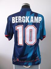Dennis BERGKAMP #10 Arsenal Away Football Shirt Jersey 1995/96 (L)