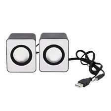 New Portable 3.5mm USB Power PC Laptop 2.0 Mini Speaker Stereo Sound Loudsp