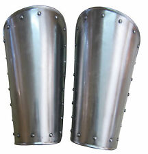 Medieval Spartan Knight Bracers Iron Steel Arm Guards Metal Guard Vambraces