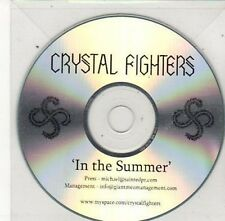 (BY784) Crystal Fighters, In The Summer - DJ CD
