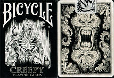 CARTE DA GIOCO BICYCLE CREEPY,poker size