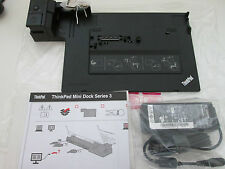 Lenovo ThinkPad Mini Dock Series 3 Docking Station (45N6681) with 2 Keys