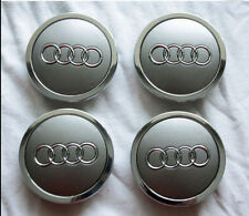 Set of 4 Genuine Audi OEM Wheel Center Caps 68mm # 4B0601170A or 4B0 601 170A