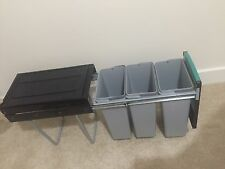 Pull Out Recycling Bin 3x10l