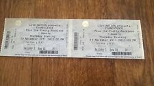rare evanescence 10th november 2011 plymouth pavillions pair used tickets