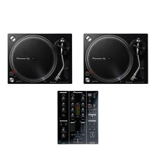 Pioneer - DJ Set (2x PLX-500 K Turntable | 1x DJM-350 Mixer) Bundle Black
