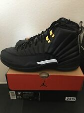 Nike Air Jordan 12 Retro MASTER Size 9.5 DS NEW WITH BOX Flu Game OVO Taxi