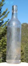 SCARCE antique ILER'S MALT WHISKEY bottle WILLOW SPRINGS DISTILLERY Nebraska