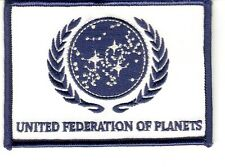 + STAR TREK Aufnäher/Patch UNITED FEDERATION OF PLANETS Flagge Flag