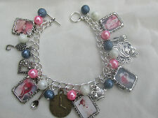 HANDMADE EMILIE AUTUMN PHOTO CHARMS BRACELET