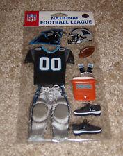 EK Success NFL Dimensional Embellishment ~ Carolina Panthers
