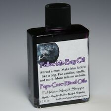 Follow Me Boy Oil Anoint Candles Use Spells Wicca Voodoo Full Moon Attract Magic