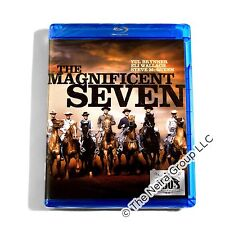 The Magnificent Seven Blu ray New Yul Brynner Steve McQueen Eli Wallach