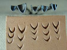 Vintage Craftool USA - Mule's Foot Stamps (5-Piece Set, Leather Stamping Tools)