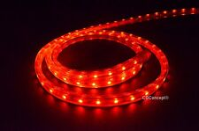 CBConcept® UL Listed,40 Feet,4300 Lumen,Red,120 Volt Flat LED Strip Rope Light