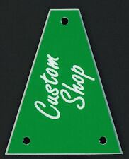 GUITAR TRUSS ROD COVER - Custom Engraved - Fits JACKSON - CUSTOM SHOP - GREEN