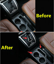 Storage box + Water Cup Holder + Gear box panel cover for JEEP COMPASS 2011-2015