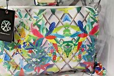 Christian Lacroix Amaryllis Clear Tote Bag Beach Color- Canopy Multi NWT $88