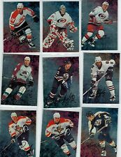 1998-99 BAP BE A PLAYER HOCKEY PARTIAL AUTO SET 50/300 LOADED W/STARS
