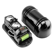 Alarm Dual Beam Photoelectric Infrared Detector 100M Home & Garden Security #*