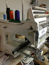 Happy 12 needle Commercial Embroidery Machine