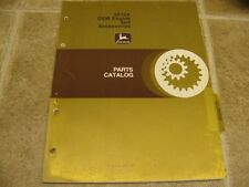 John Deere 6619A Engines & Accessories Parts Catalog Manual