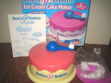 2 COLLECTABLES BASKIN 31 ROBBINS ICE CREAM MAKER & MILKY MILK SHAKE MIXER