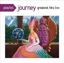 Playlist: Greatest Hits: Live by Journey (Rock) (CD, Jan-2014, Columbia (USA))