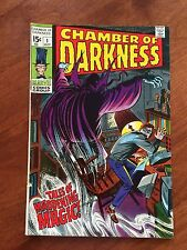 Marvel Comics Chamber Of Darkness #1 Scary!!