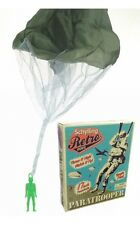 "Schylling PARATROOPER 17"" Tangle Free Parachute Retro Army men Military Toy NEW"