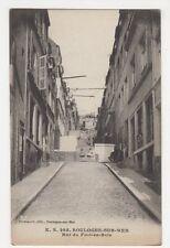France, Boulogne Sur Mer, Rue du Fort-en-Bois Postcard, B356