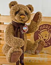 """Charlie Bears 2013 Collection - Aloysius - 16"""" Bear - NEW - WITH TAGS"""