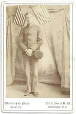 Photo of a Soldier from Co 7, 3rd Infantry, Missouri Volunteers in Washington DC
