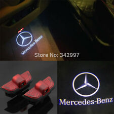 2x LED door step courtesy laser projector For Mercedes Benz C-Class W204 2007-14